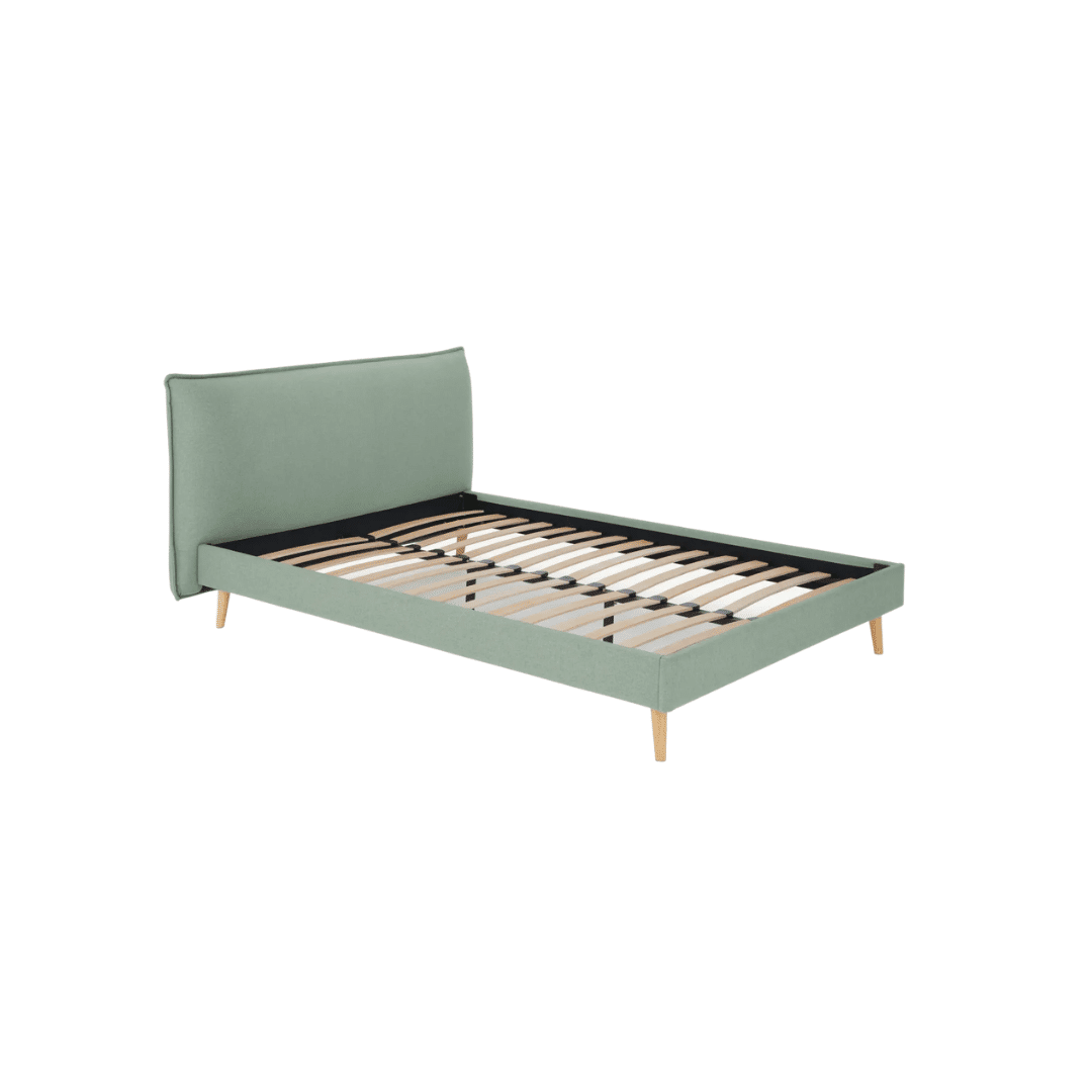 Cama doble Piper verde