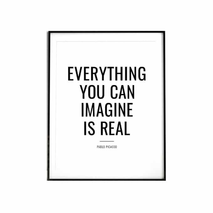 Everything You Can Imagine is Real, Picasso